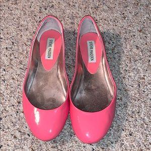 Steve Madden Pink Flats